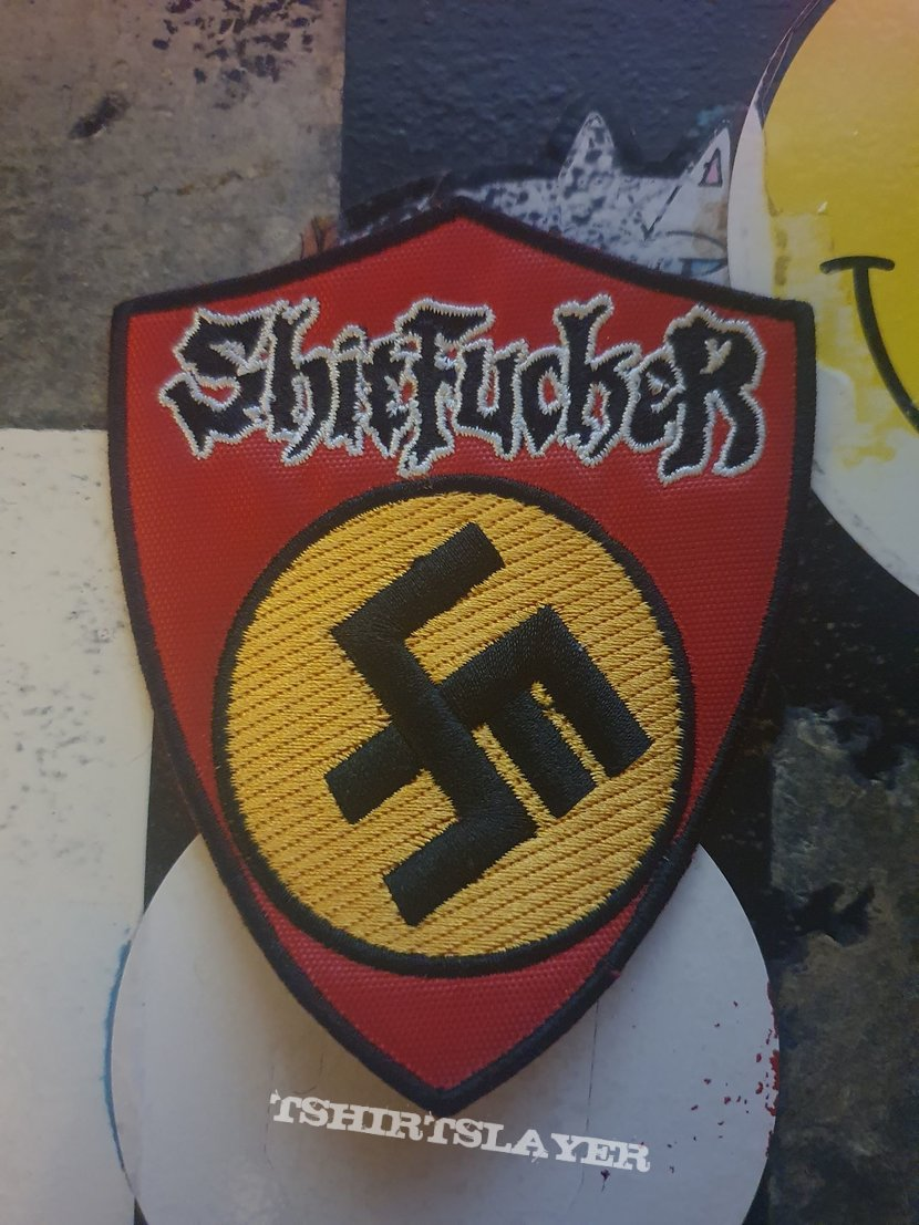 Shitfucker Embroidered Patch