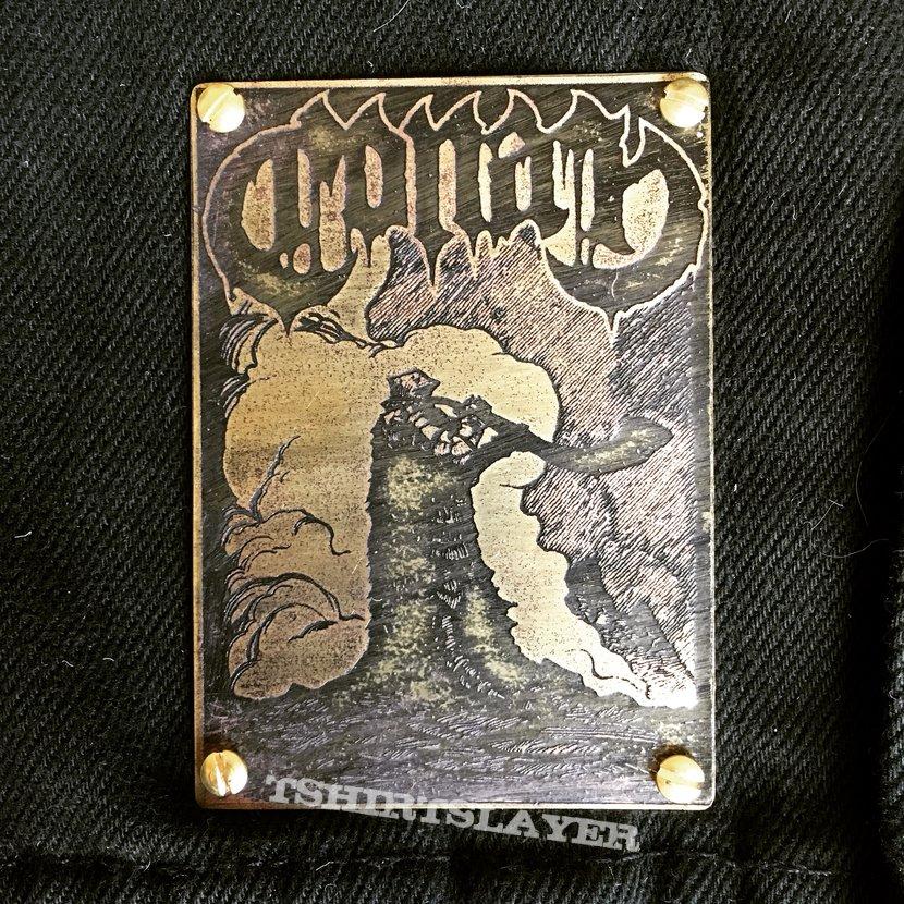 Conan - Hornblower Brass Patch