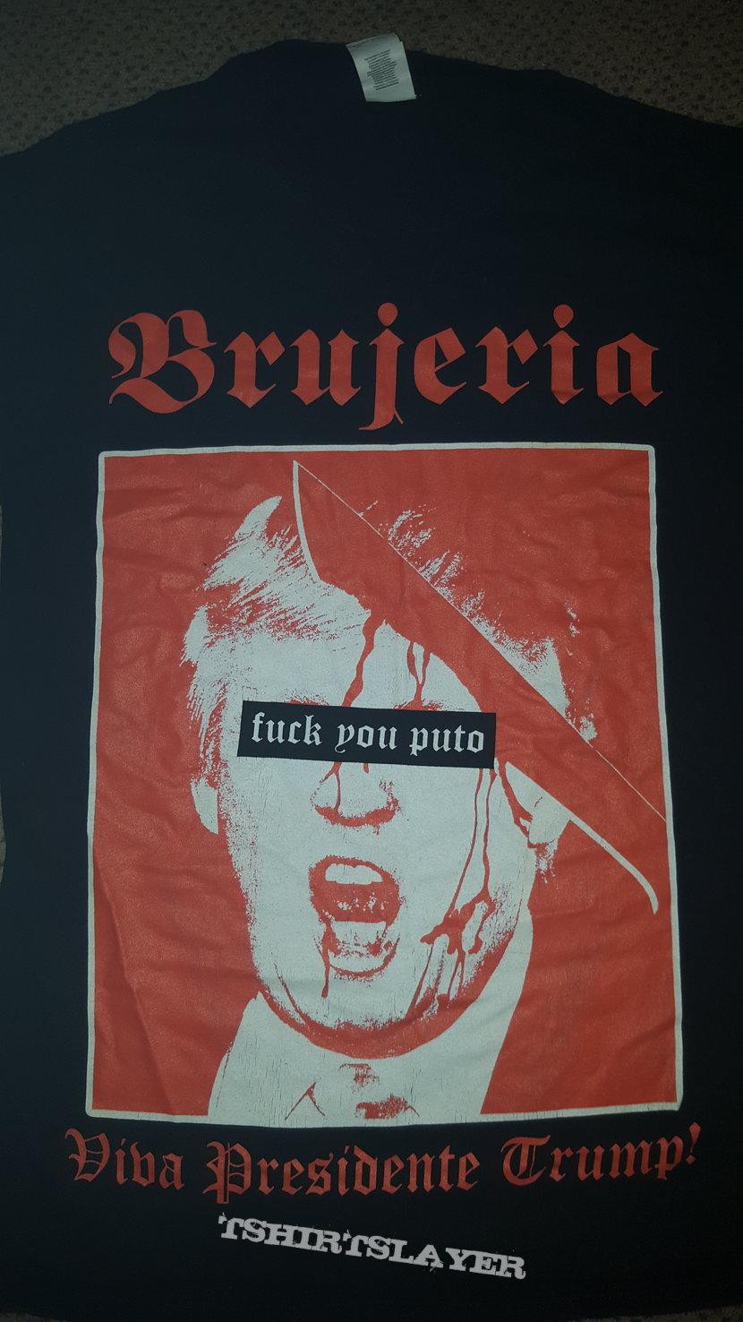 BRUJERIA VIVA PRESIDENTE TRUMP T SHIRT