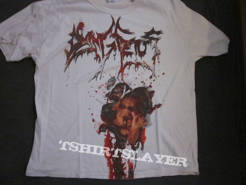 Dying Fetus - tearing inside the womb shirt