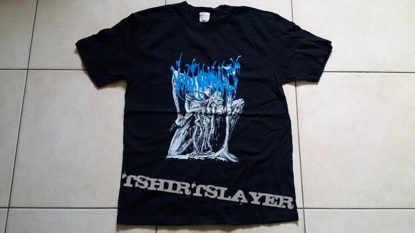 Vomit Remnants blue Majewski shirt