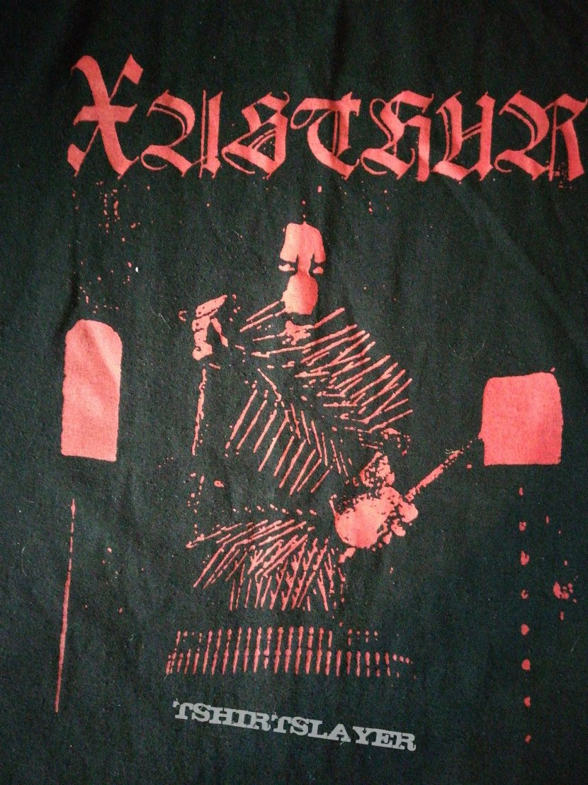 Xasthur red Malefic shirt XL