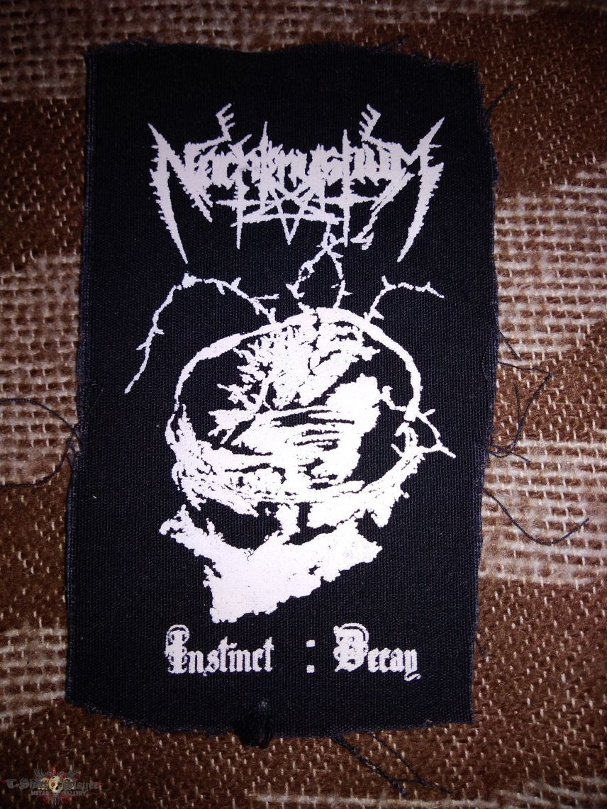 Nachtmystium Instinct Decay cloth patch