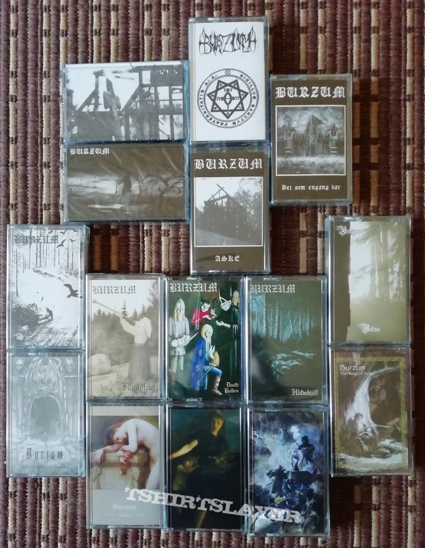 Burzum 'In the Arms of Darkness' cassette box set