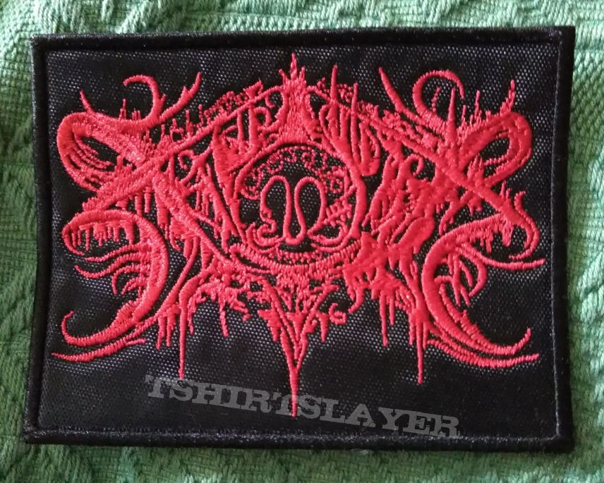 Xasthur red logo patch