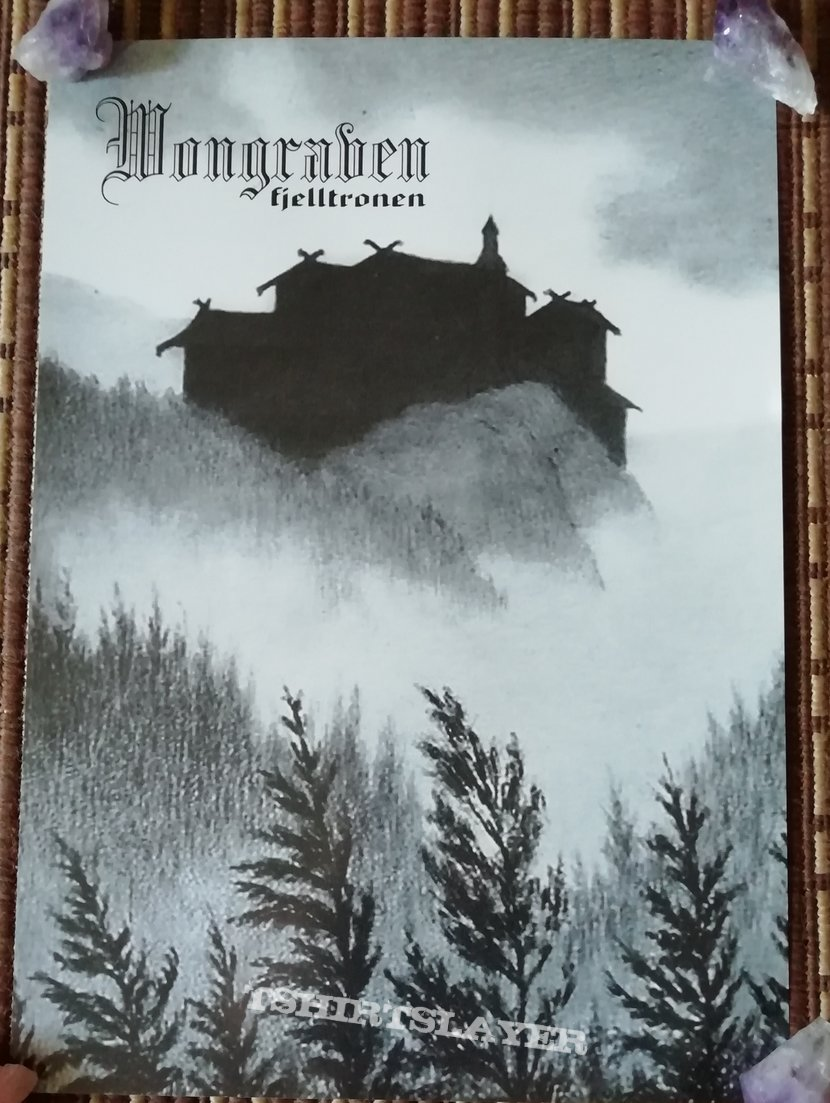 Wongraven 'Fjelltronen' poster