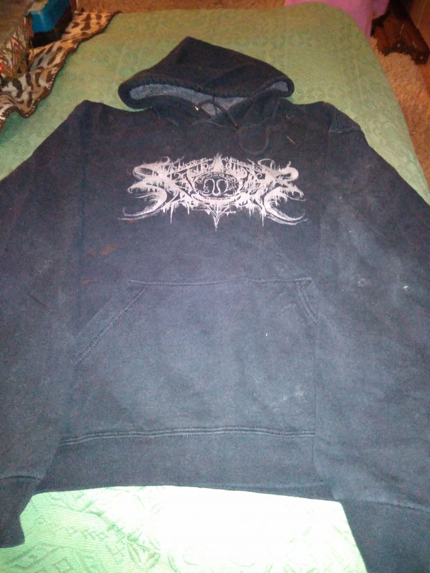 Xasthur 'Nocturnal Poisoning' hooded top Large
