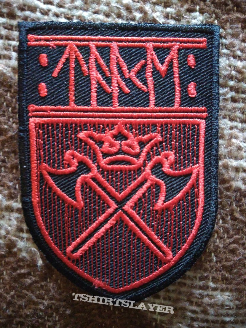 Taake shield red patch