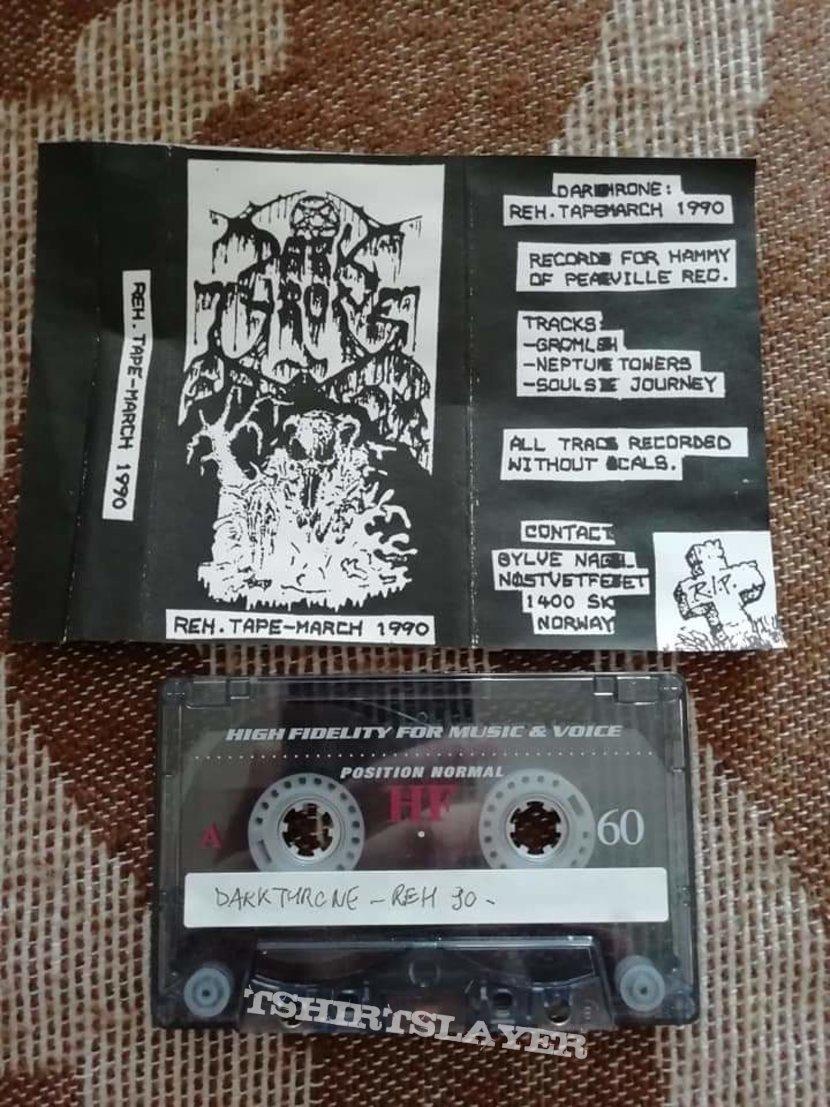 Darkthrone 'Rehearsal 1990' cassette