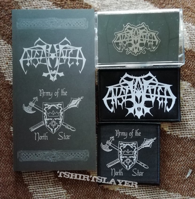 Enslaved 'Army of the Northstar' cassette box
