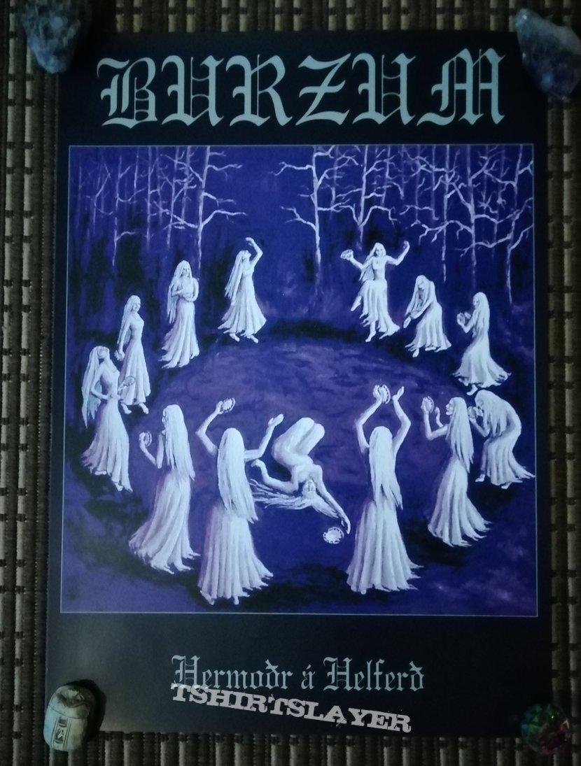 Burzum 'Dauði Baldrs' poster set