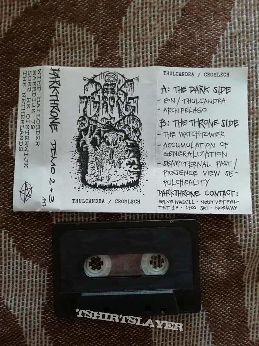 Darkthrone 'Thulcandra/Cromlech' cassette