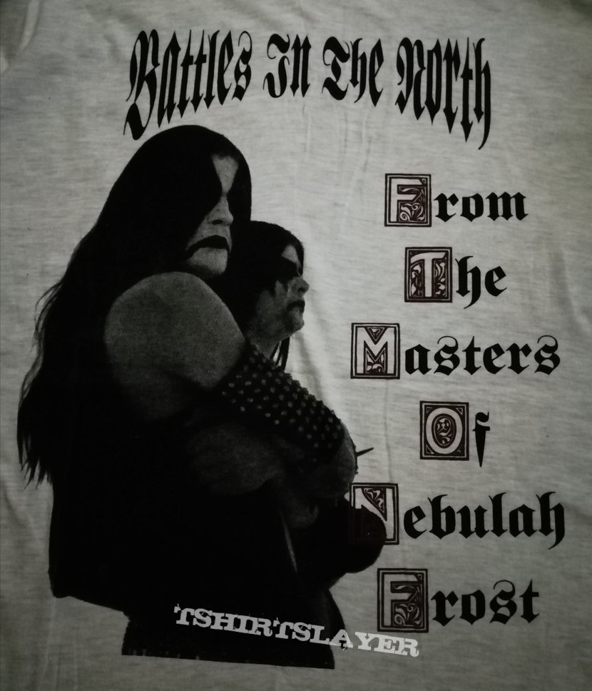 Immortal 'Battles In The North' longsleeve