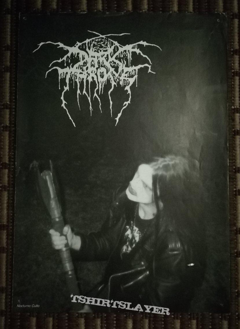 Darkthrone Nocturno Culto poster