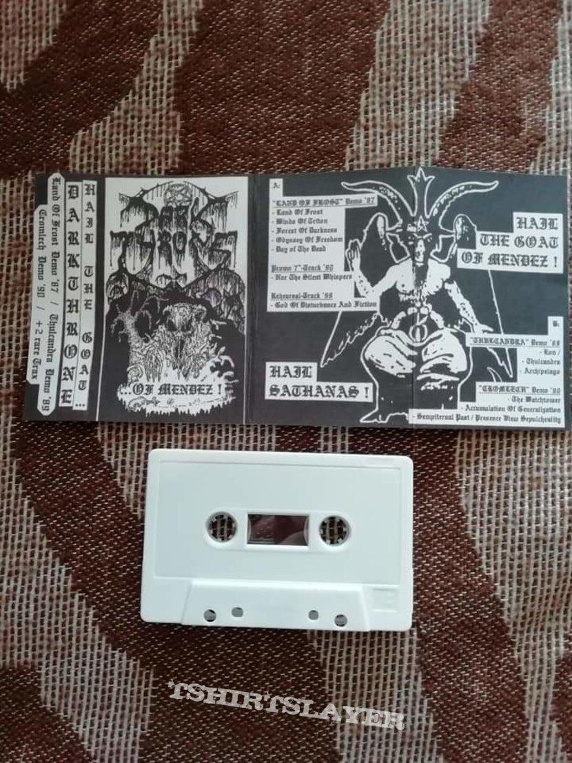 Darkthrone 'Hail the Goat of Mendez!' cassette