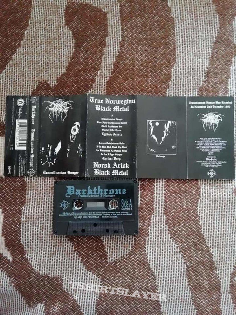 Darkthrone 'Transilvanian Hunger' cassette