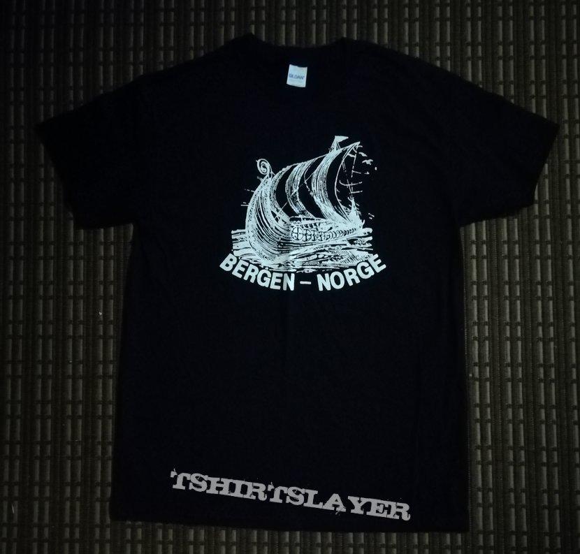 Bergen Norge shirt as worn by Varg Vikernes
