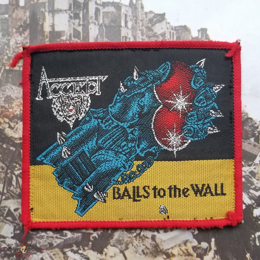Accept Balls to The Wall vintage