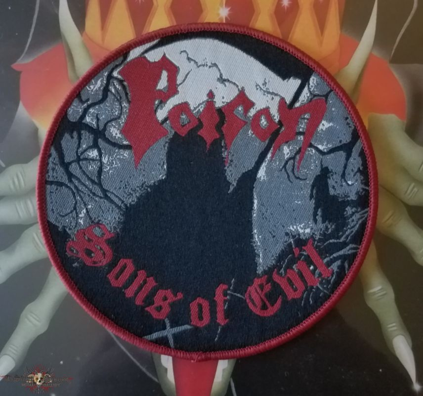 Poison Sons of Evil woven