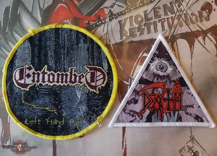 Death and Entombed patches