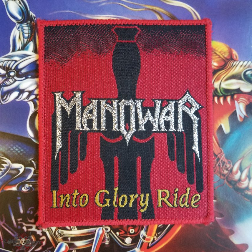 MANOWAR Into Glory Ride original (red border)