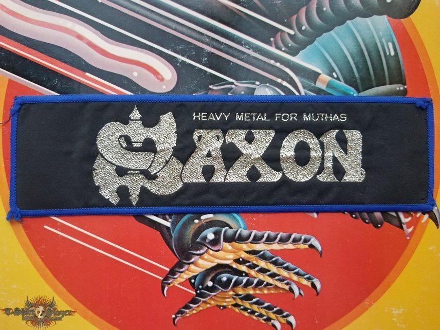 SAXON Heavy Metal for Muthas stripe