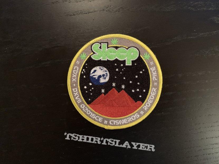 Sleep - 2015 tour mission patch