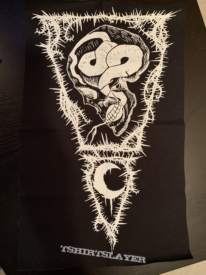 Leviathan - The Smoke of Their Torment back patch