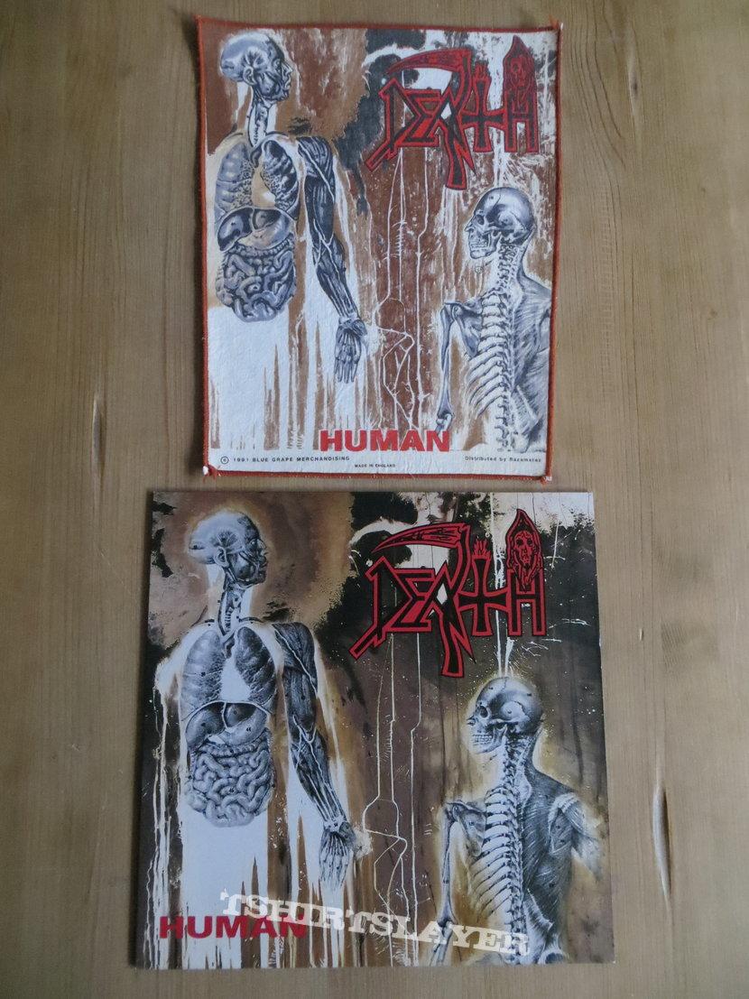 Death - The Inhuman Tour 1992 Poster
