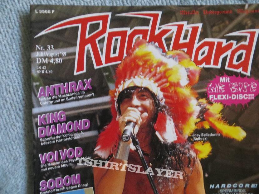 Sodom - Agent Orange Advert Rock Hard Magazine