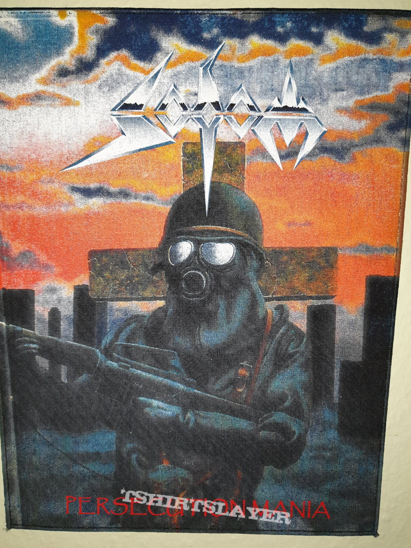 Sodom - Persecution Mania Backpatch