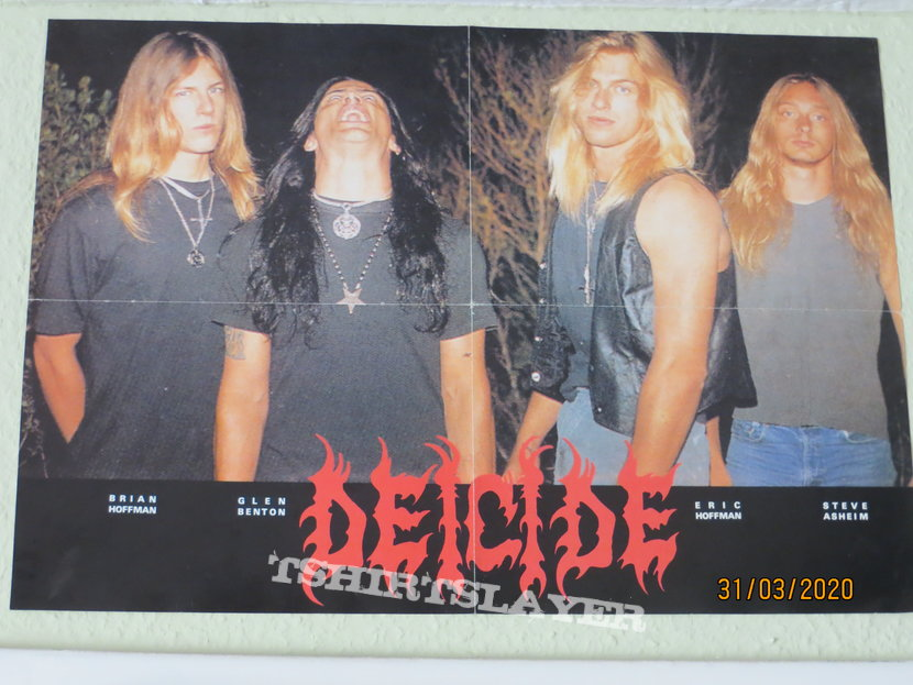 Deicide - Poster around 1990