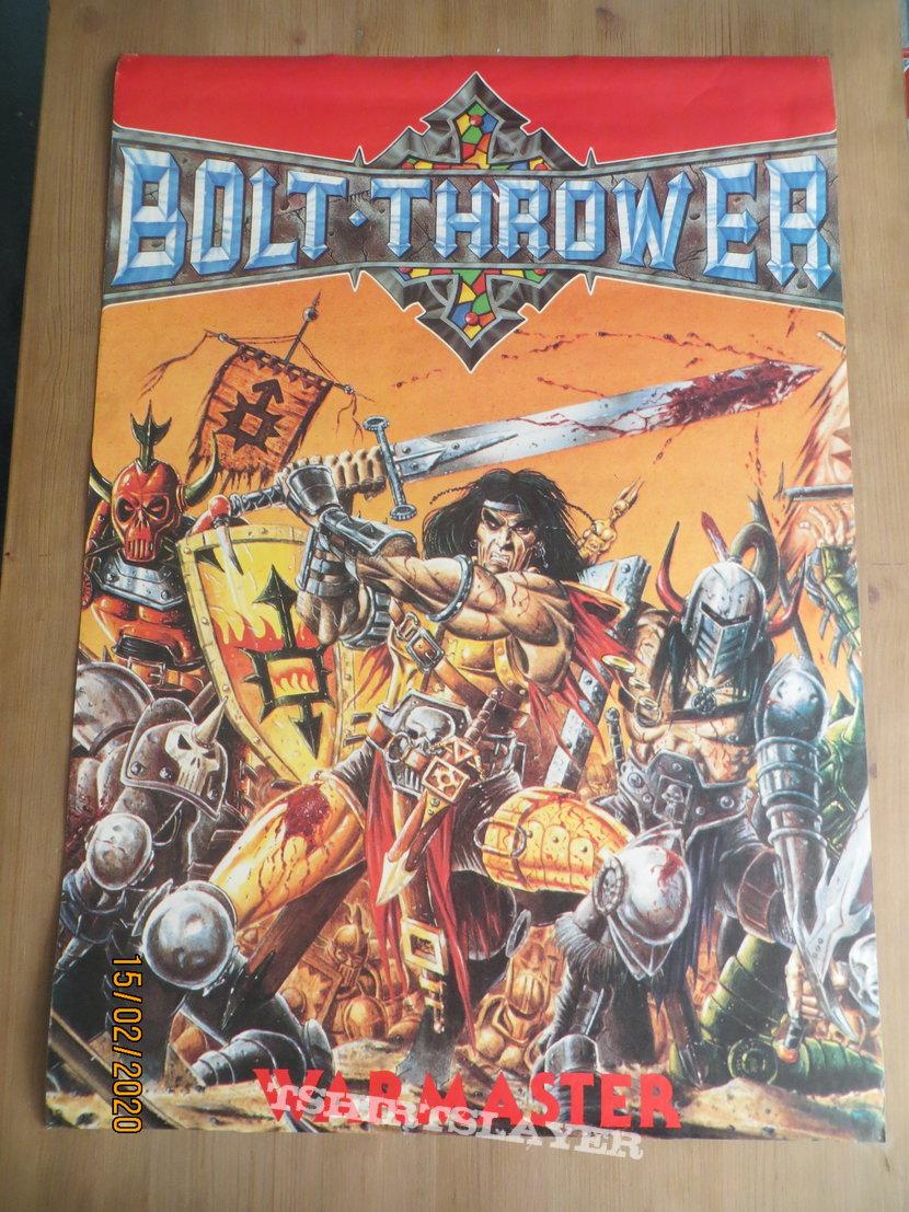 Bolt Thrower WarMaster Poster
