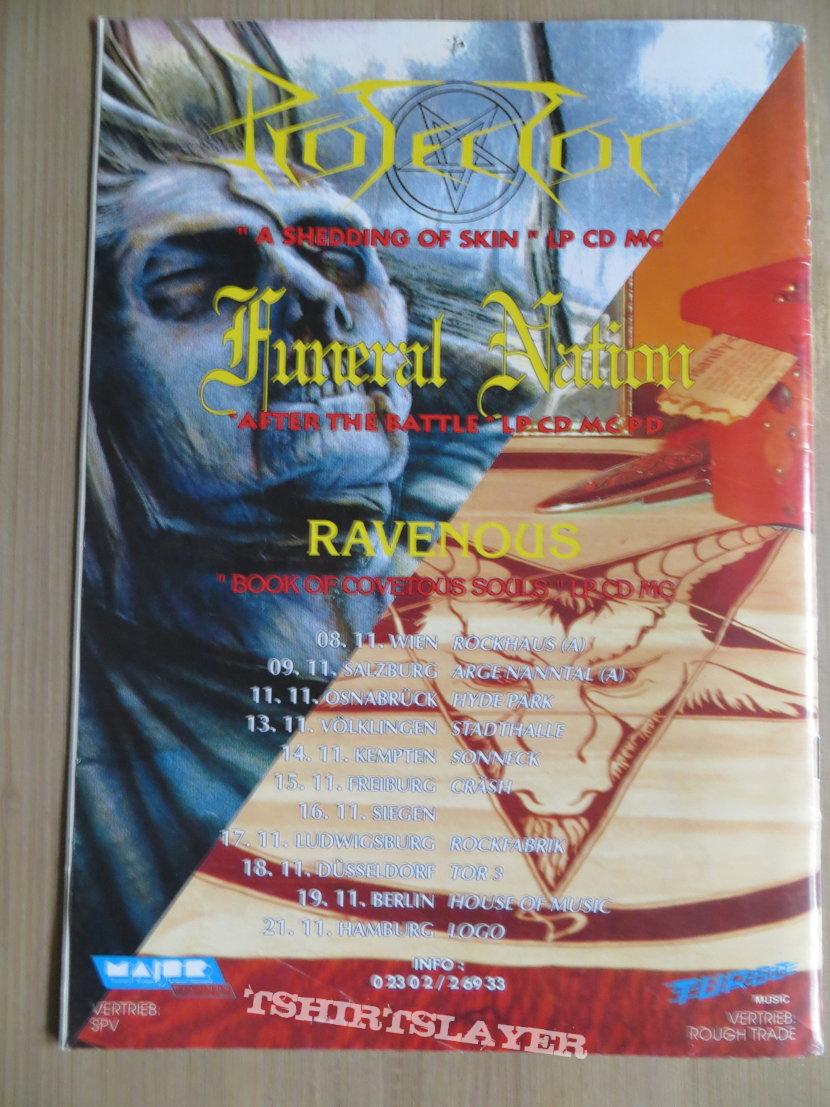 Vampire Magazine / Fanzine Nr 1 - 4  1991