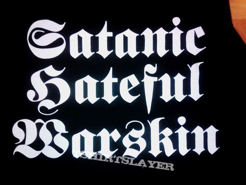 Deathangle - Satanic Hateful Warskin Tank Top