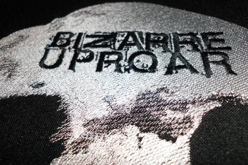 Bizarre Uproar embroidered back patch