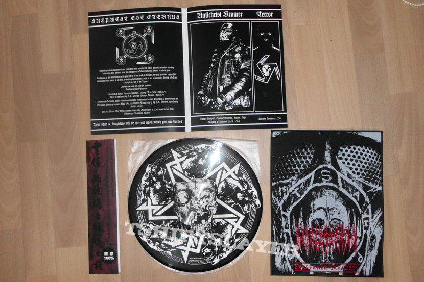 Intolitarian - Berserker Savagery (Pic LP with embroidered backpatch)