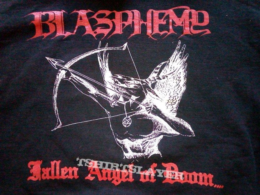 """Blasphemy - """"Fallen Angel Of Doom"""" Hoodie"""