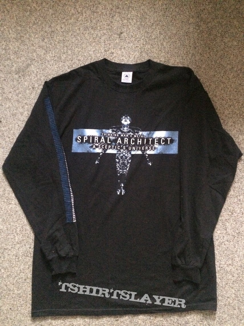 Spiral Architect - A Sceptic's Universe Longsleeve