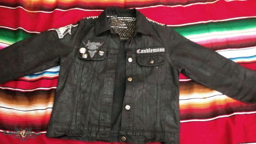 Failed bleached jacket