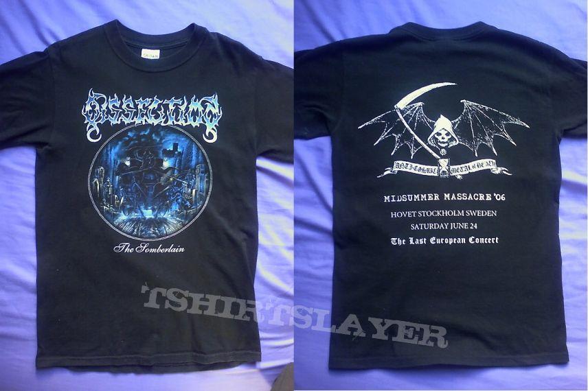 Dissection - The Somberlain / Midsummer Massacre shirt