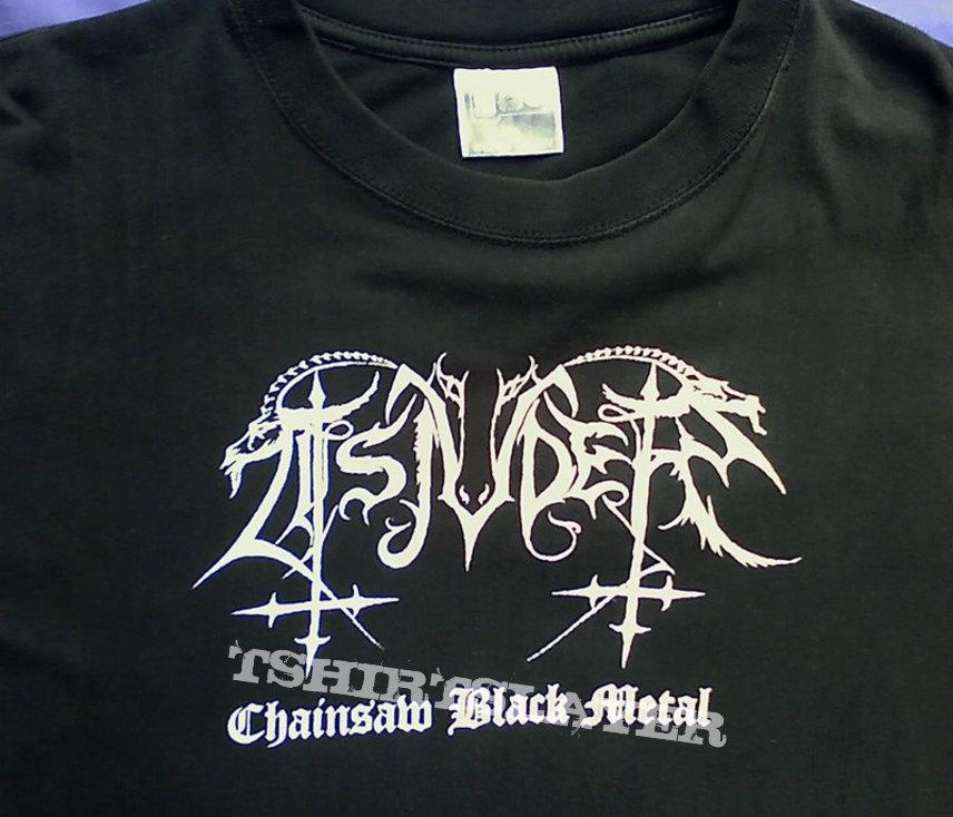Tsjuder - Chainsaw Black metal shirt (original)