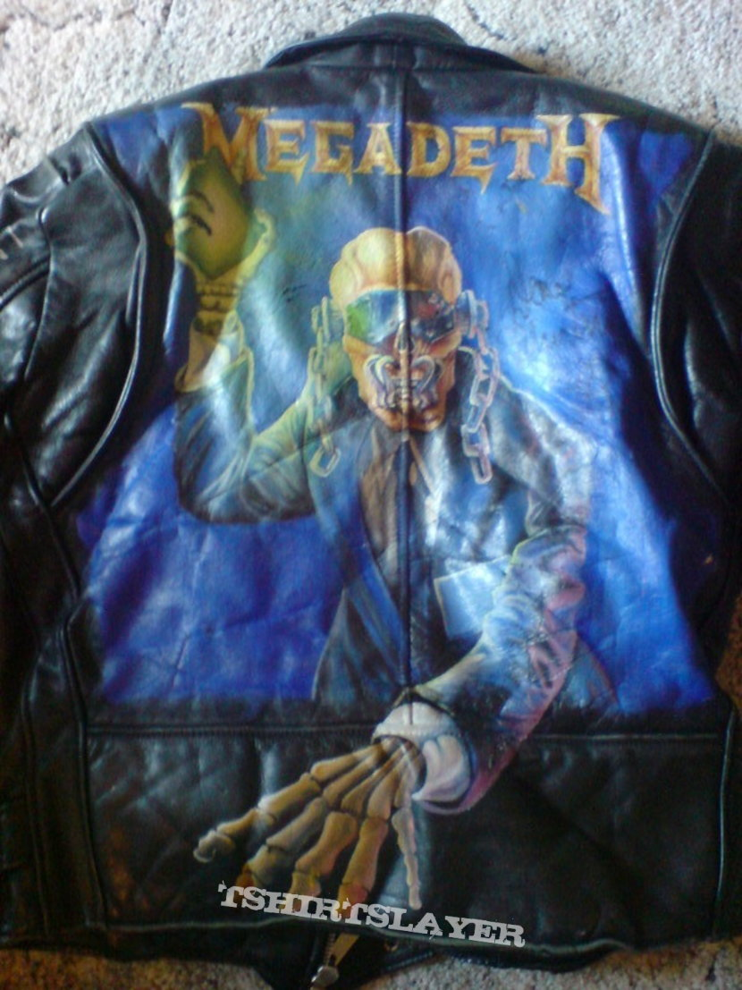 Megadeth - Rust In Peace (leather jacket)