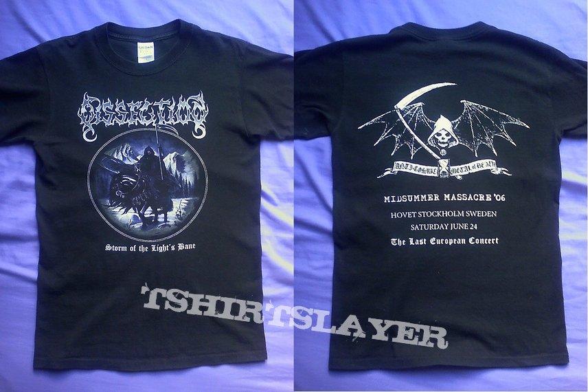 Dissection - Storm of the Light's Bane / Midsummer Massacre shirt