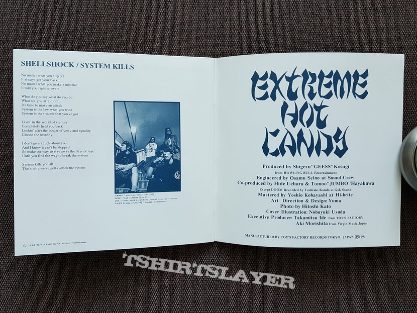 V.A. - Extreme Hot Candy: the news from far east loud scene CD