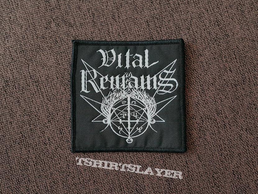 Vital Remains - Logo Patch