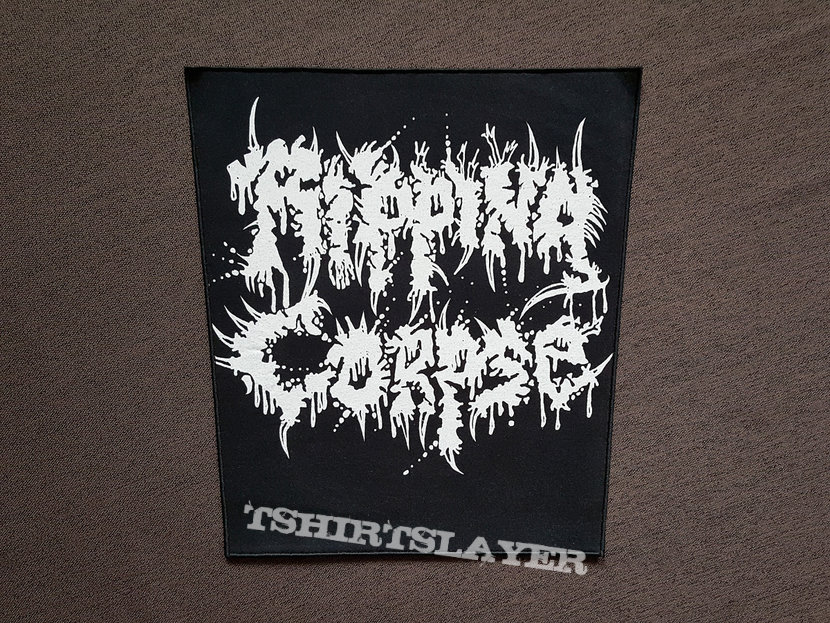 Ripping Corpse - Logo Backpatch