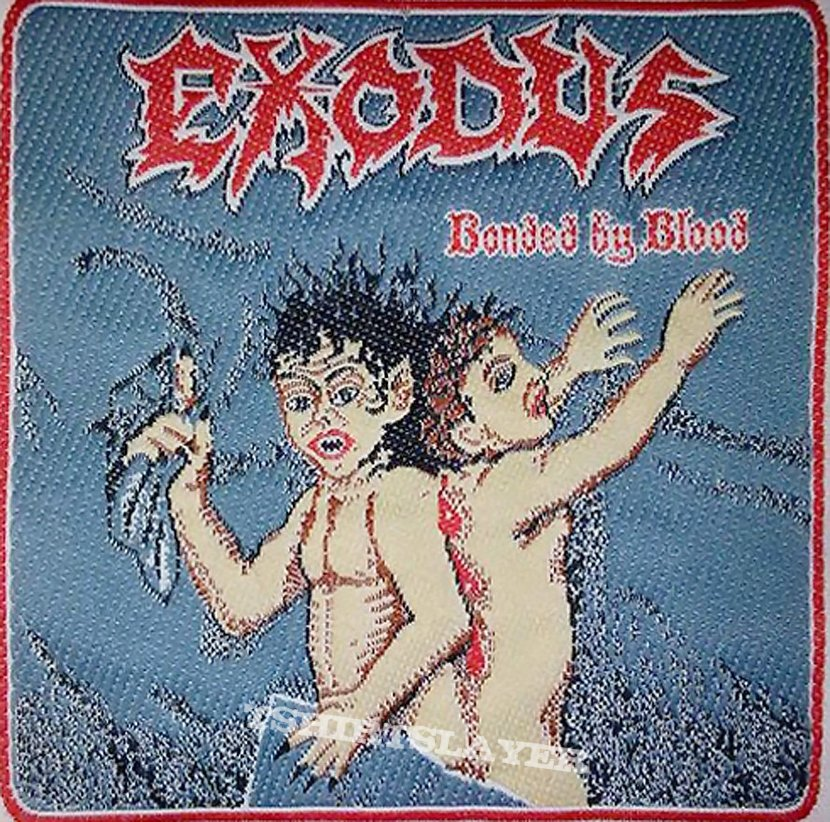 Exodus - Bonded By Blood Woven Piece
