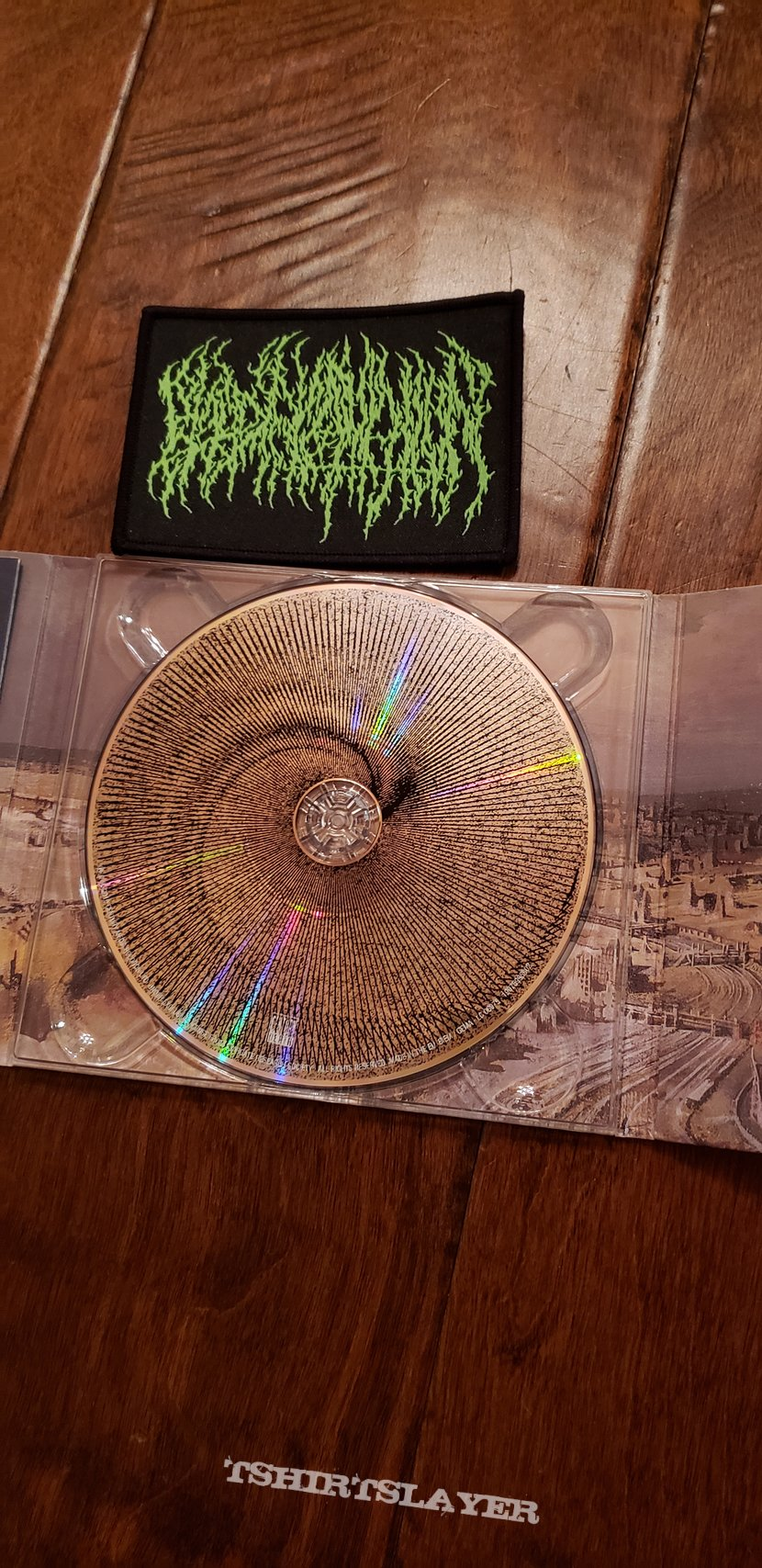 Blood Incantation CD and Patch