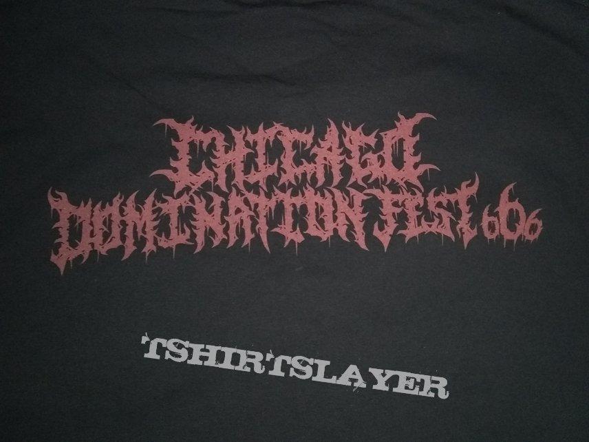 Despondency Chicago Domination Fest shirt